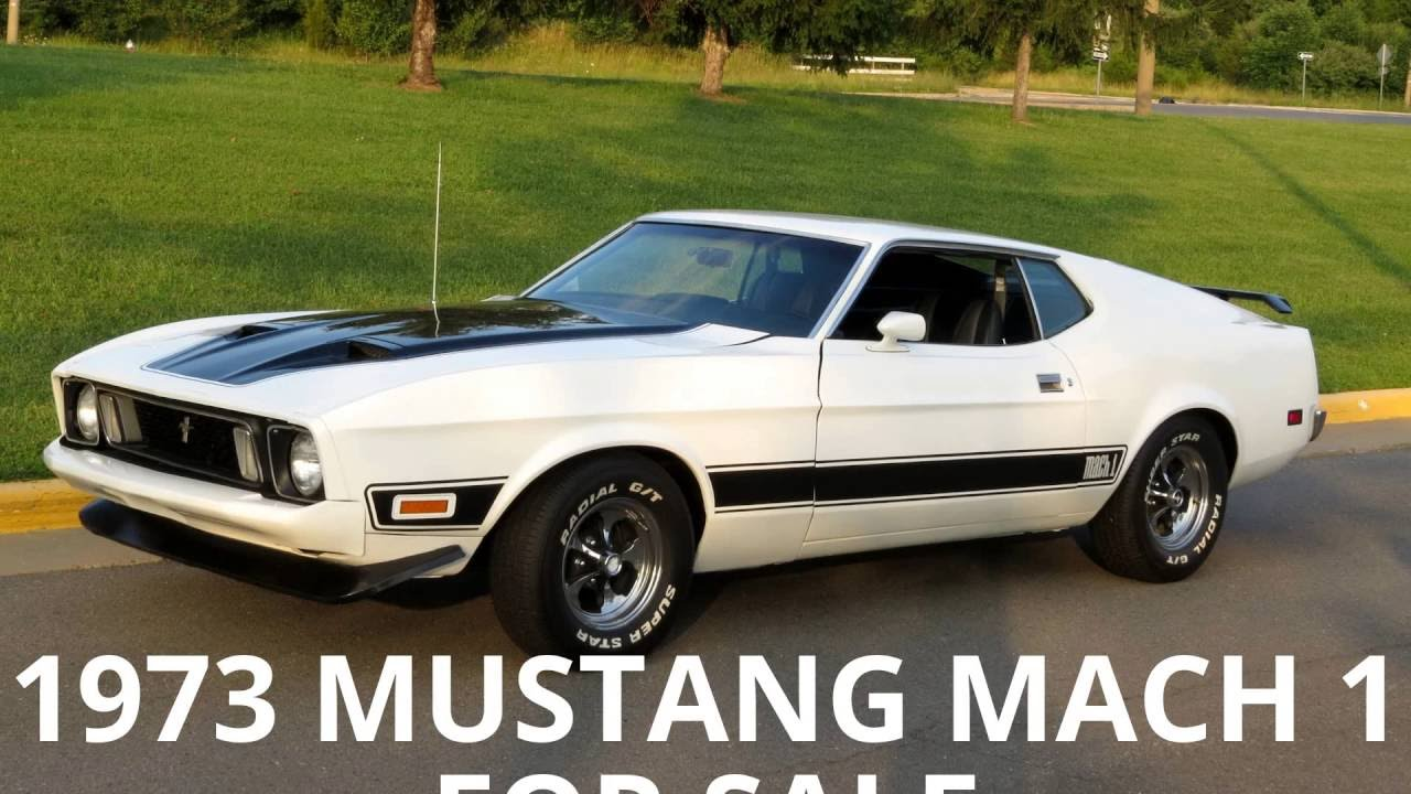 1973 mustang mach 1 for sale youtube. Black Bedroom Furniture Sets. Home Design Ideas
