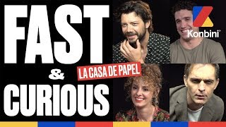 La Casa De Papel - Le Fast & Curious de tout le casting | Konbini