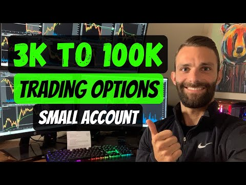 3k to 100k in 18 Months Day Trading Stocks and Options | Small Trading Account