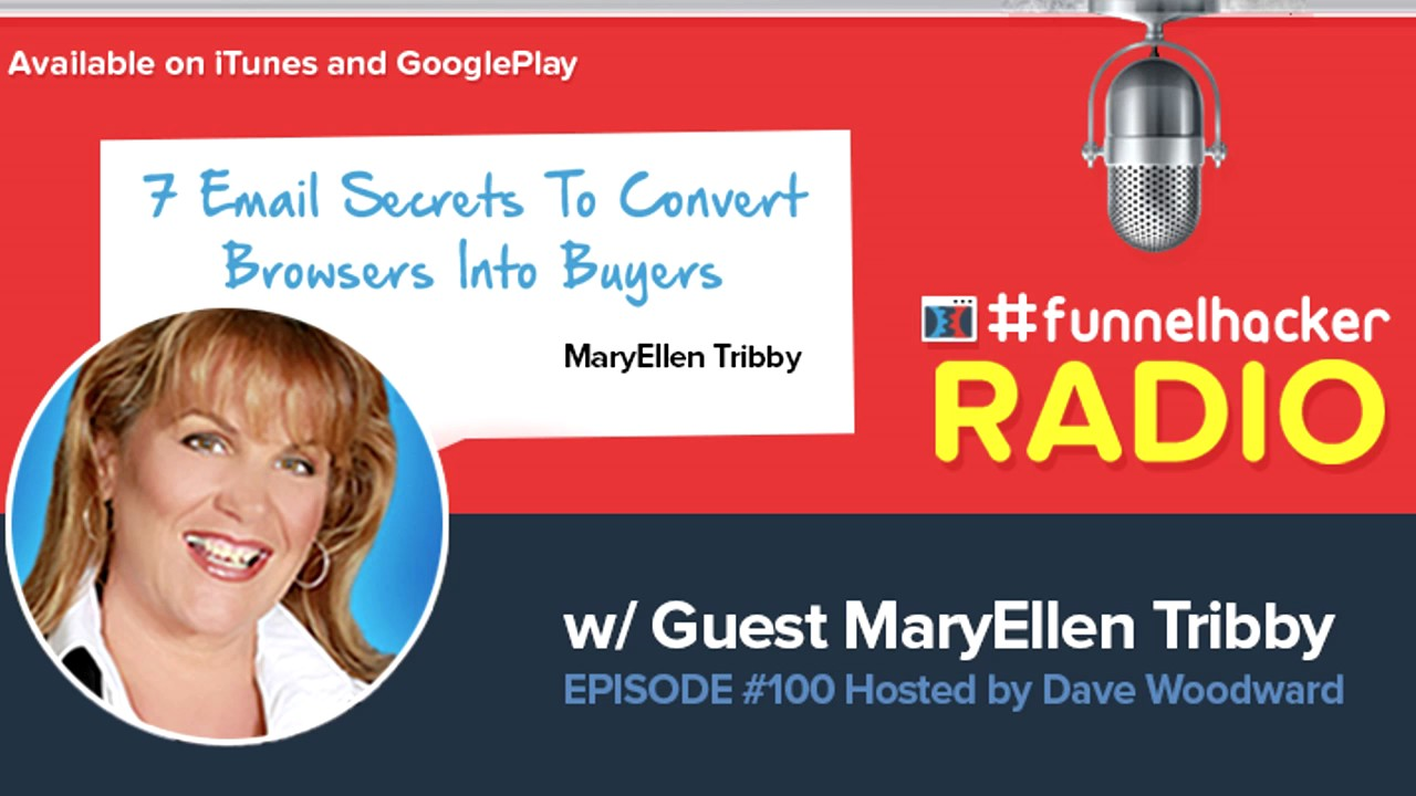 MaryEllen Tribby, 7 Email Secrets To Convert Browsers Into Buyers