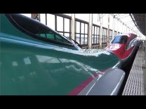 日本 【GPS・速度計付】最高速度320km/h 東北新幹線 | 側面車窓 | 仙台~盛岡 Tōhoku Shinkansen E6 series 高速鐵路 2013年2月24日撮