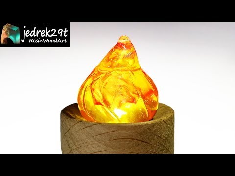 How to make Resin Fire, Flame / Resin Art