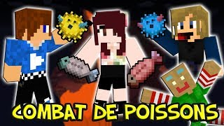 COMBAT DE POISSONS ! | PVP - Minecraft
