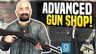 ADVANCED GUN SHOP - Gmod DarkRP | Heavy Gun Dealer!