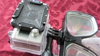 How to Mount a GoPro Camera to a Dive Mask