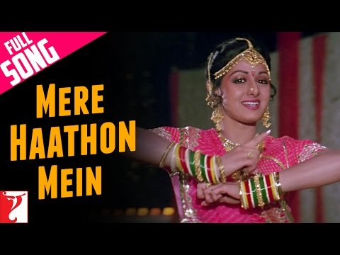 Mere Haathon Mein  Full Song  Chandni  Rishi Kapoor  Sridevi  Lata Mangeshkar