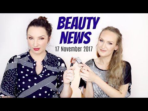 BEAUTY NEWS - 17 November 2017 | New Releases | Becca Golden