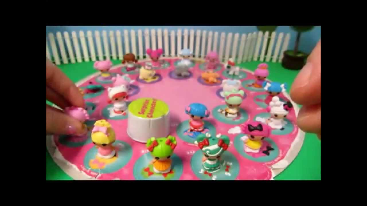 New! Lalaloopsy Tinies Wal-Mart Exclusive 25 Pack! - YouTube
