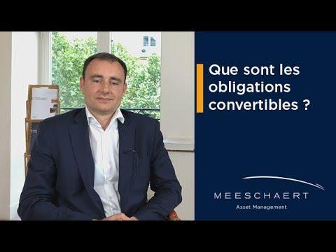Que sont les obligations convertibles ?