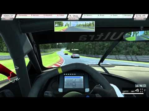 R3E - Audi R8 LMS  Ultra - Nordschleife - 30 Min Rennen - Onboard