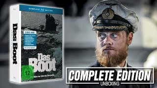 DAS BOOT    8 Discs Complete Edition    UNBOXING
