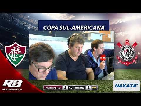 Copa Sul-Americana - Fluminense X Corinthians - 29/08/2019 - AO VIVO