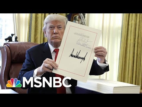 Poll: Over Half Of Americans Approve Of Tax Plan | Morning Joe | MSNBC