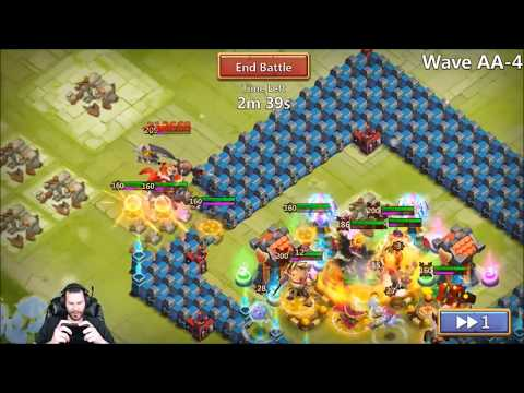 JT's Free 2 Play HBM AA First Time Trying SASQUATCH Castle Clash
