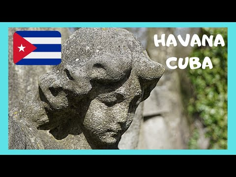 CUBA: The COLON CEMETERY in HAVANA, one of world's most spectacular