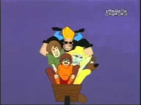 Johnny bravo meets Scooby doo - YouTube
