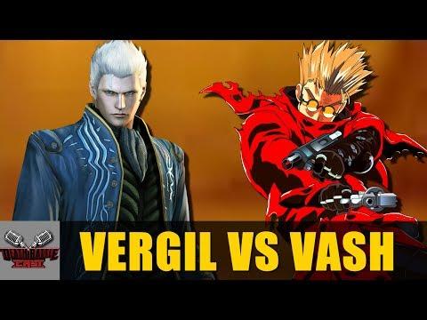 Vergil VS Vash   DEATH BATTLE Cast