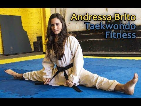 Taekwondo Fitness - Atleta Andressa Brito | Canal PSW