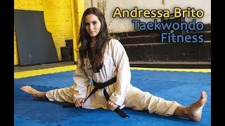 Taekwondo Fitness - Atleta Andressa Brito   Canal PSW