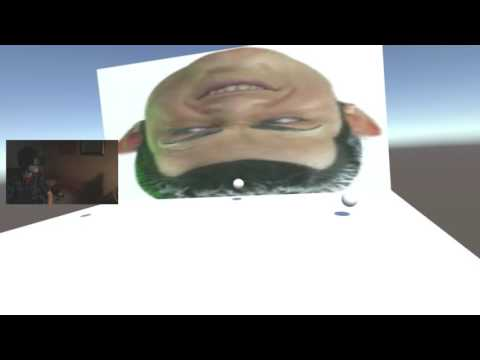 We Are Number One but it's Unity default assets in VR