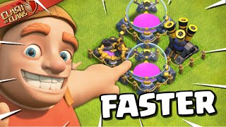 Upgrade Fast at Town Hall 13 - Tips to Upgrade Fast (Clash of Clans)