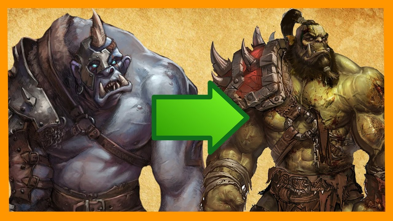 Wow Chronicles Orc Vs Elf