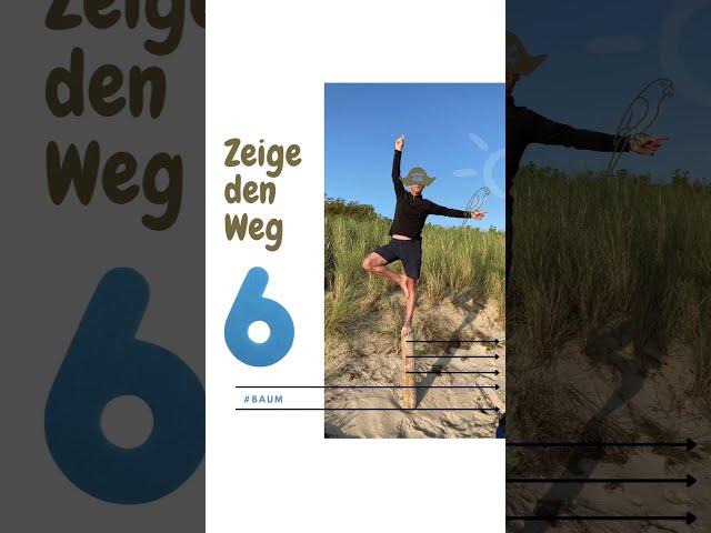 So machst Du Yoga im Urlaub. 10 Ideen von der Insel Poel #shorts