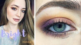 Весенний яркий макияж / яркий макияж глаз: видео-урок
