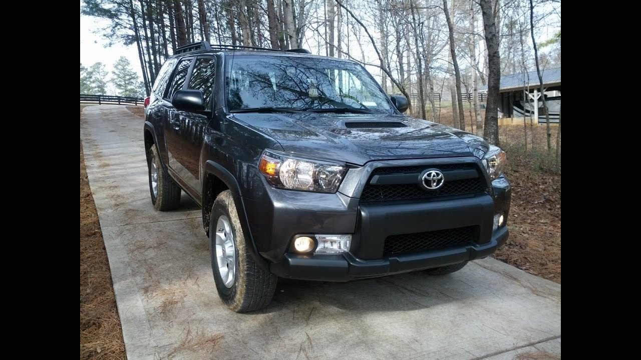 Toyota 4Runner Trail - Tested On and Off Road - YouTube