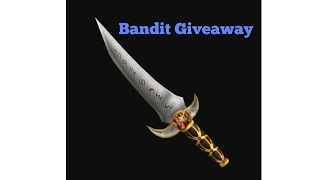 Bandit Giveaway! [Roblox Assassin!]