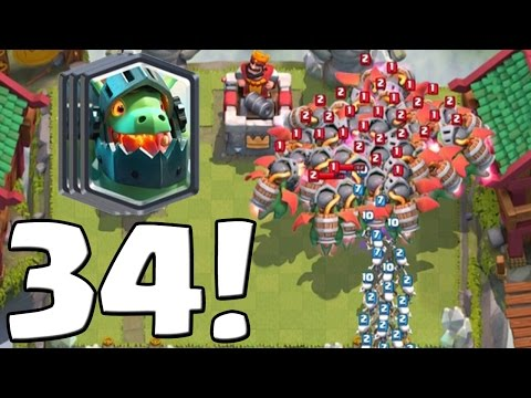 34 INFERNODRACHEN! - WELTREKORD?! || CLASH ROYALE || Let's Play CR [Deutsch/German HD+]