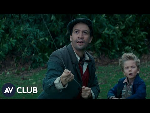 Lin-Manuel Miranda on Mary Poppins Returns and if a Hamilton movie would actually work