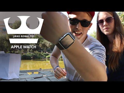 Jirko rozbal to!  - Apple Watch [UNBOXING]