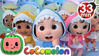 Gambar cover Baby Shark Submarine + More Nursery Rhymes & Kids Songs - CoCoMelon