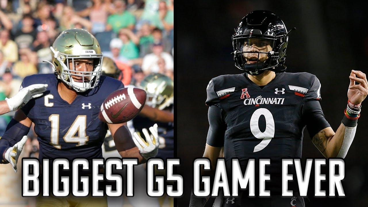 Cincinnati's Luke Fickell says win over Notre Dame 'a big step' for ...