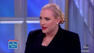 Meghan McCain Confronts Donald Trump Jr. on His Father's 'Character' | The View