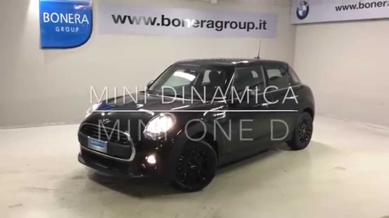 bmw dinamica mini one d 5 porte youtube. Black Bedroom Furniture Sets. Home Design Ideas