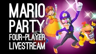 MARIO PARTY SWITCH LIVESTREAM: Outside Xtra Plays Super Mario Party LIVE @ Server