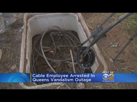 Man Charged With Cutting Spectrum Cables
