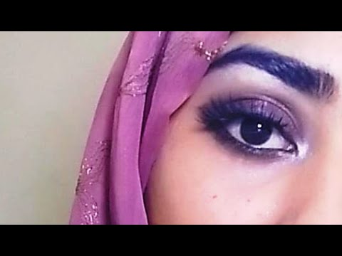 easy smokey shimmer eye makeup tutorial for beginners