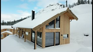 SIP EUROPE - Building with Structural insulated panels  SIP's in Gaustablikk - NORWAY