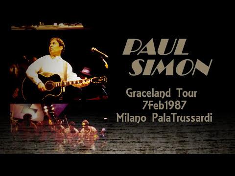 PAUL SIMON  - Milano 1987 - Graceland Tour