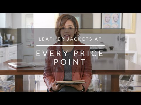 Leather Jackets At Every Price Point