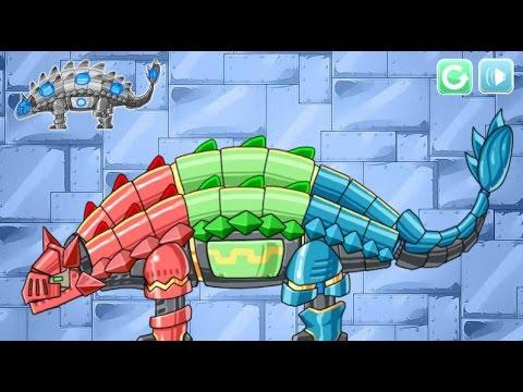 Dino Robot Knight Ankylo (Робот динозавр Анкилозавр) - прохождение игры