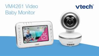 The VTech VM4261 Video Baby Monitor
