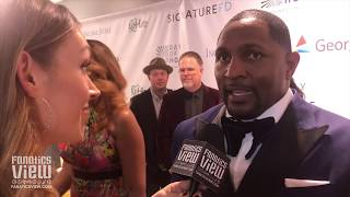 Ray Lewis talks Advice He Recieved in Hard Times, Super Bowl LIII & Giving Back Through Ray of Hope