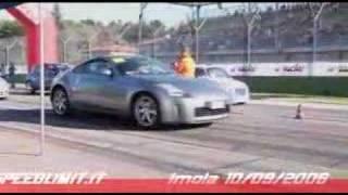 Fiat 500 vs Nissan 350z SUPER ARABA YARIS BIR GIR BAK YA UC