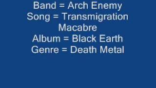 Arch Enemy - Transmigration Macabre