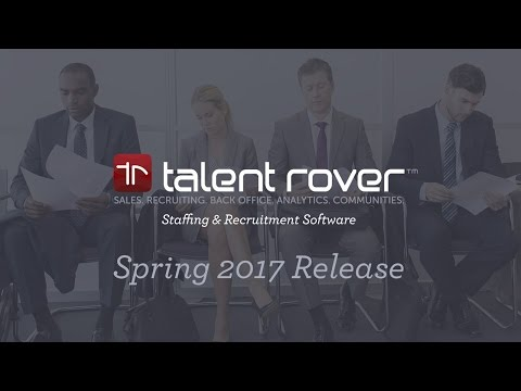 Talent Rover Spring 2017 Release