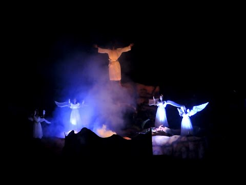 Gothuruth St.Sebastian's Church Uyarpu 2016 ( Resurrection of Jesus Dramatic ) Ascension of Jesus